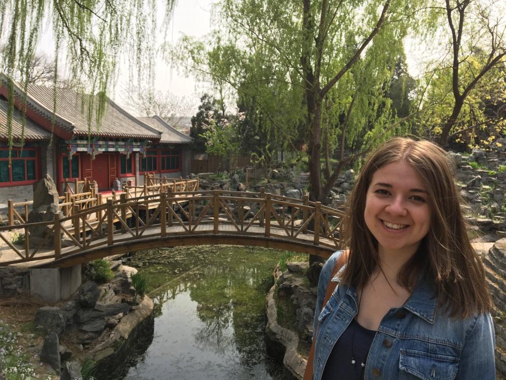 Beijing park, China