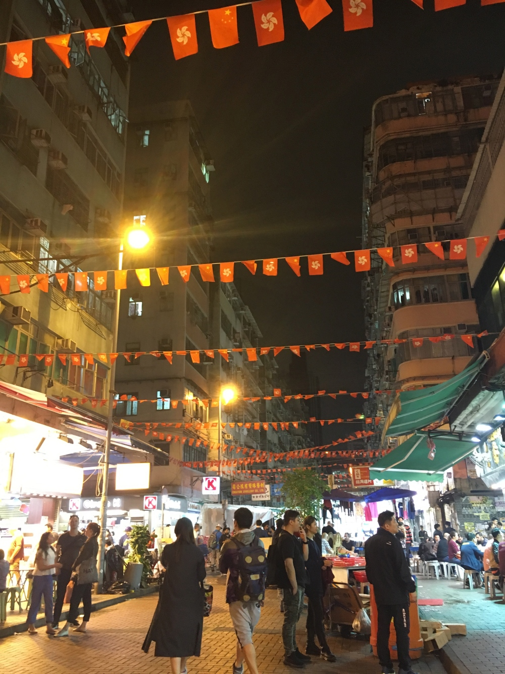 Temple Street Night Market, Hong Kong