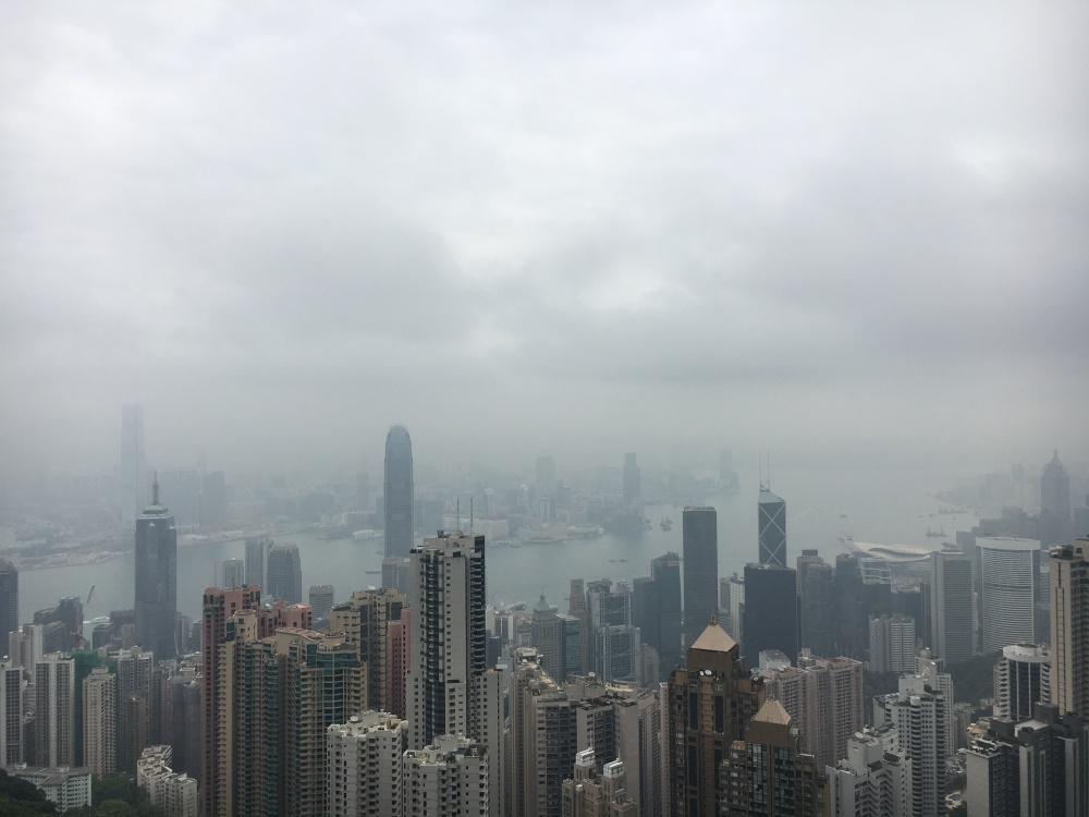 Victoria Peak view, Hong Kong