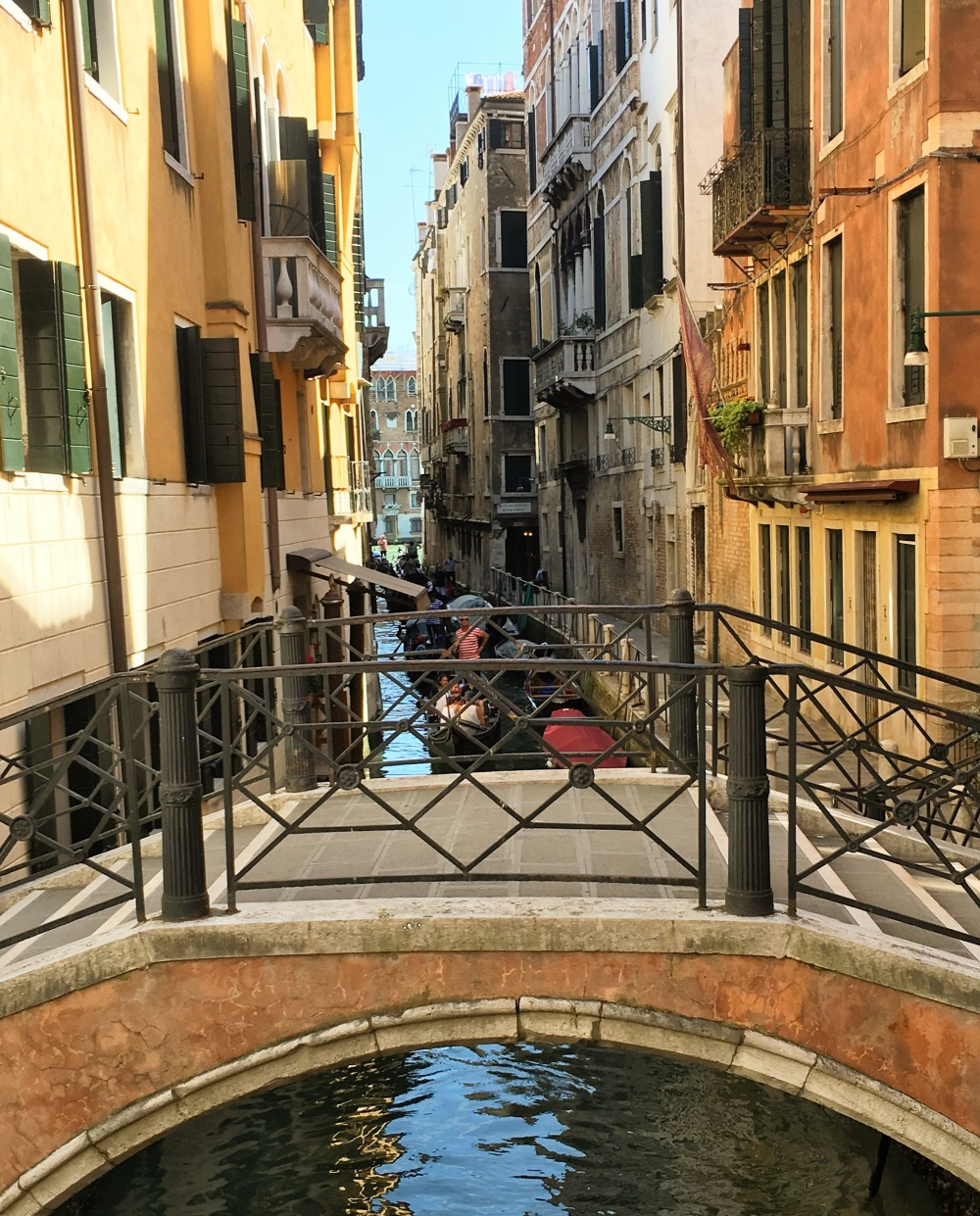 Venice bridge and canals