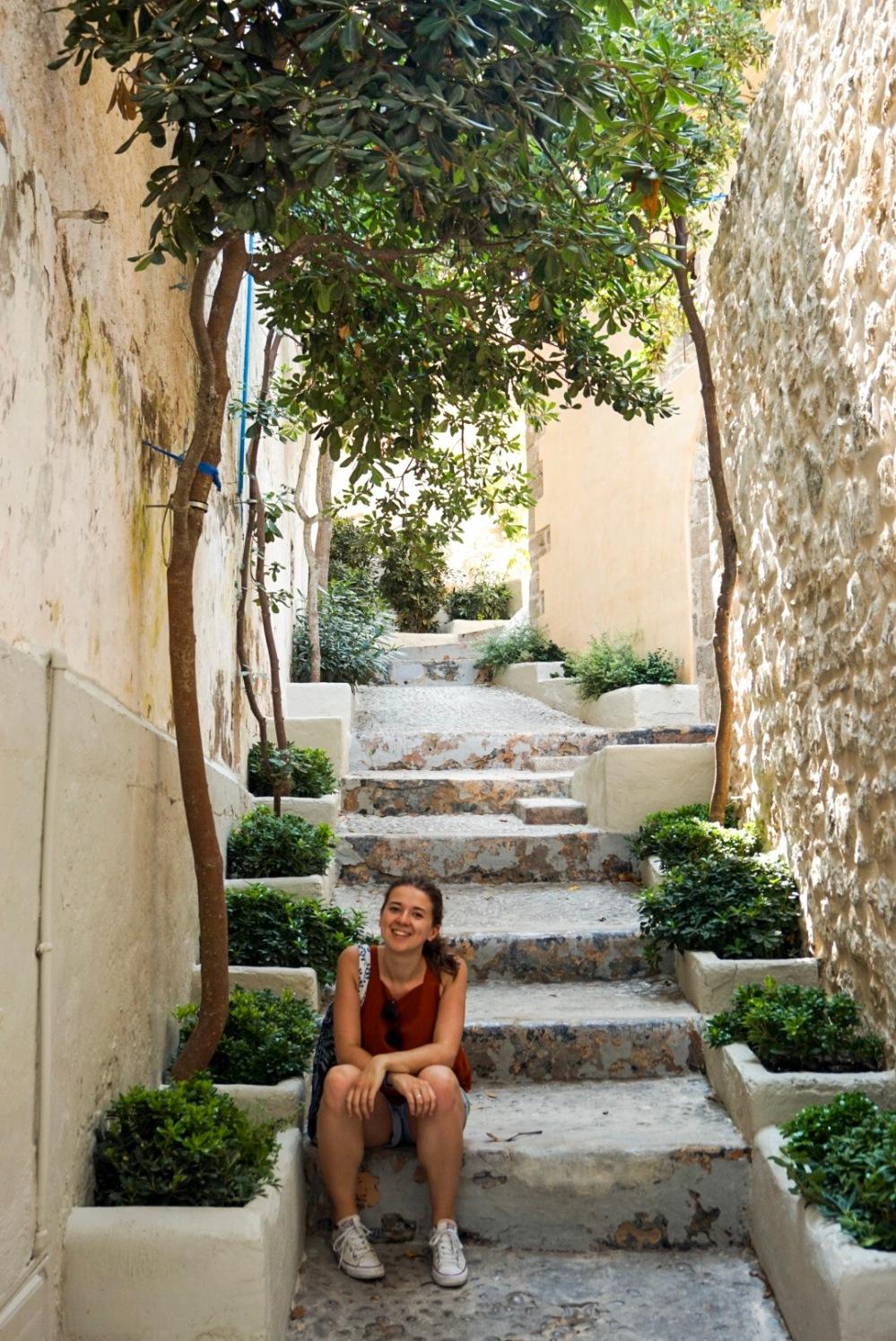 Ibiza Town backstreet