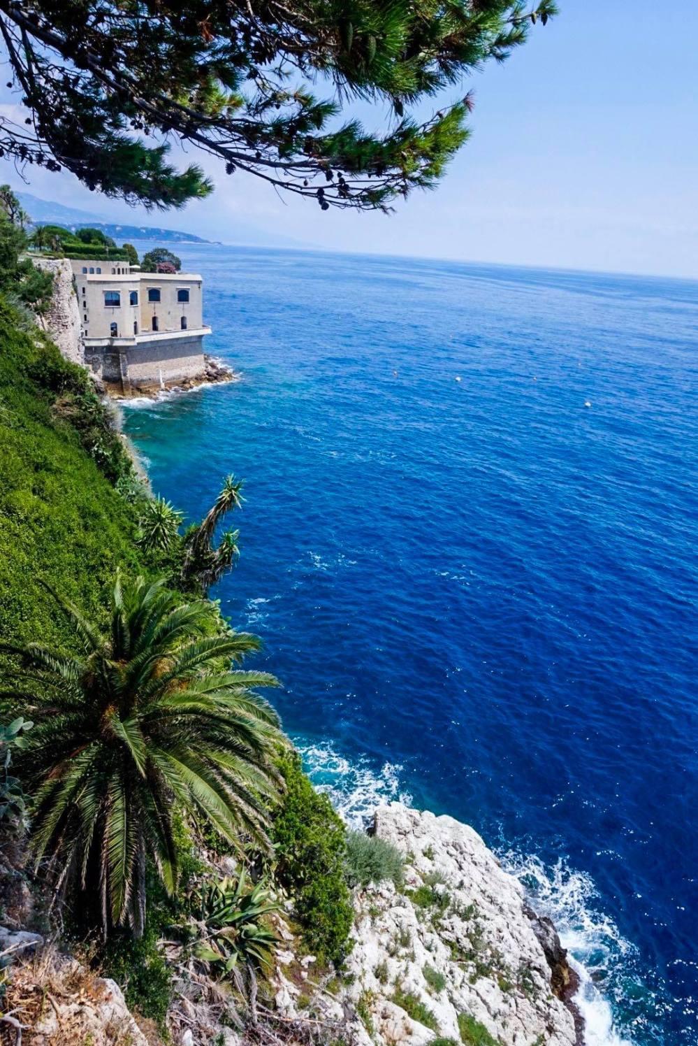 Blue sea, Monaco, France