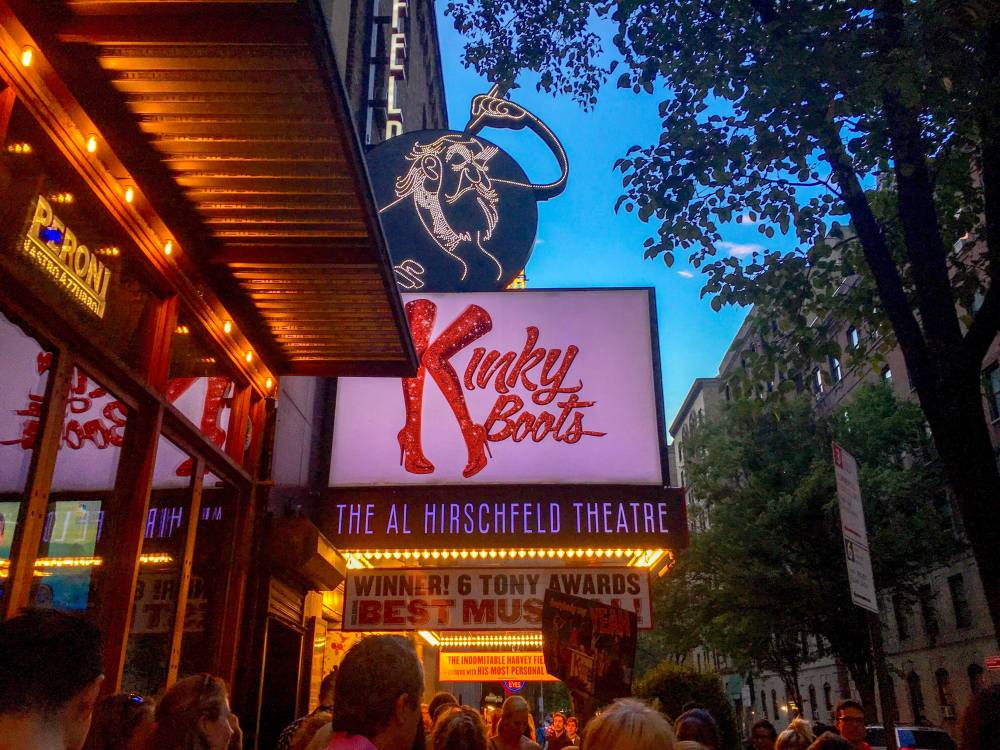 New York City, Broadway, Kinky Boot, Al Hirschfeld Theatre