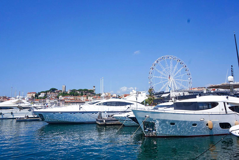 Cannes, France yachts