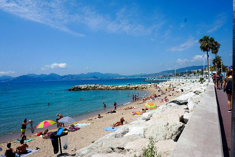 Cannes, France Beach